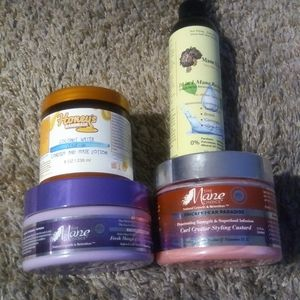 Barely Used! Natural Hair Bundle-The Mane Choice+